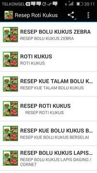Resep Roti Kukus apk screenshot