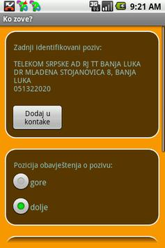 Ko zove? apk screenshot