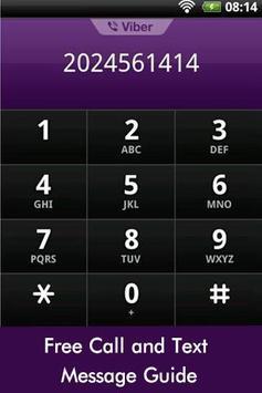Free Call Text Message Guide apk screenshot