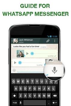 Guide for whatsapp messenger apk screenshot
