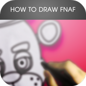 How To Draw FNAF icon