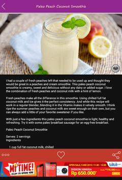 Paleo Smoothie Recipes poster