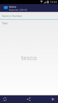 WebSMS: TescoIE Connector poster