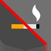 Smoking ban icon