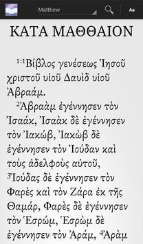 Greek New Testament poster