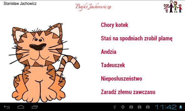 Bajki Jachowicza apk screenshot