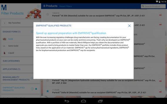 EMD Millipore Formulation apk screenshot