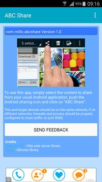 ABC Share WiFi Direct Sharing poster