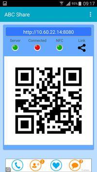 ABC Share WiFi Direct Sharing apk screenshot