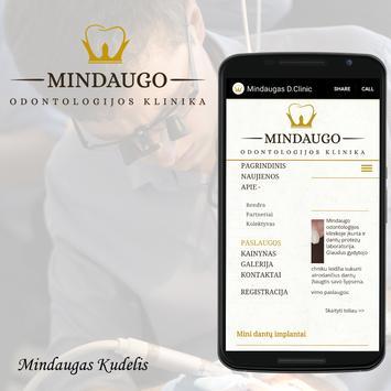 Mindaugas Dental Clinic apk screenshot