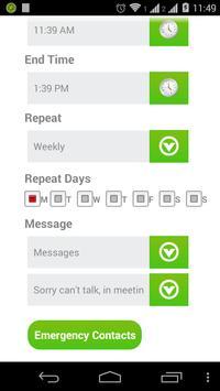 Can't Talk Now apk screenshot