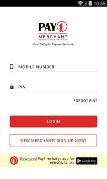 Pay1 Merchant poster