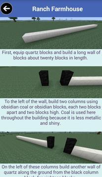 Building Guide Free: Minecraft apk screenshot