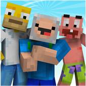 Cartoon Skins for MCPE icon