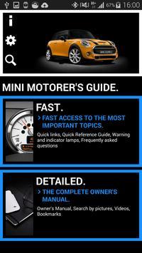 MINI Motorer's Guide poster