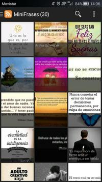 MiniFrases apk screenshot