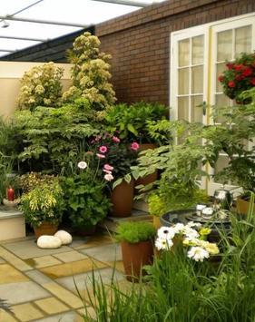 Minimalist Garden poster