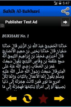 Kitab Shahih Bukhari apk screenshot