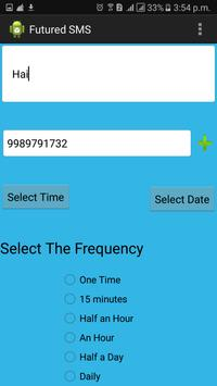 FUTURE SMS apk screenshot