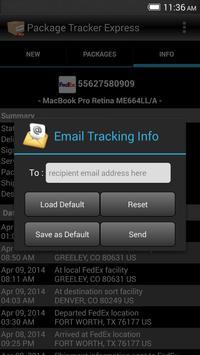 Package Tracker Express apk screenshot