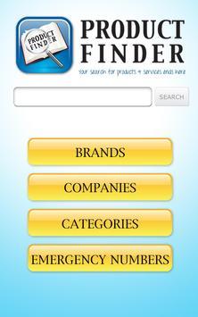 Qatar Product Finder (Tab) apk screenshot