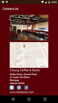 Cikang Resto apk screenshot