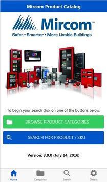 Mircom Product Catalog poster