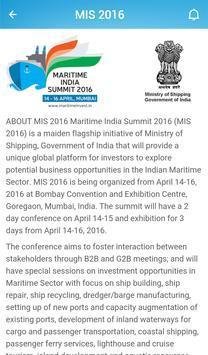 MARITIME INDIA SUMMIT apk screenshot