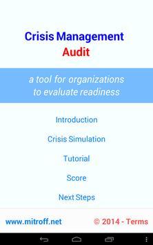 Crisis Management Audit apk screenshot