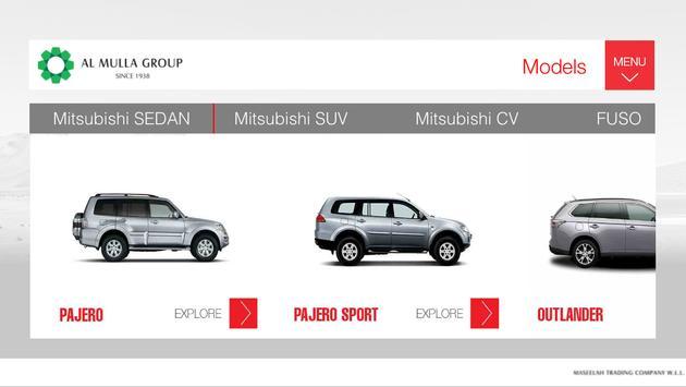 Mitsubishi Kuwait apk screenshot