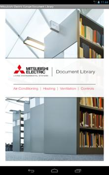 Mitsubishi Electric UK Library poster
