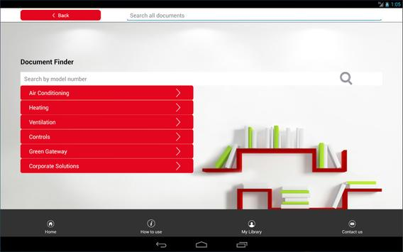 Mitsubishi Electric UK Library apk screenshot