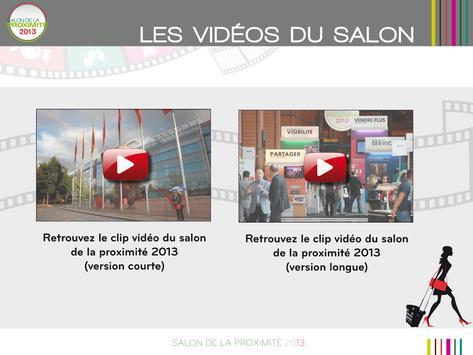 Salon de la proximite 2013 apk screenshot