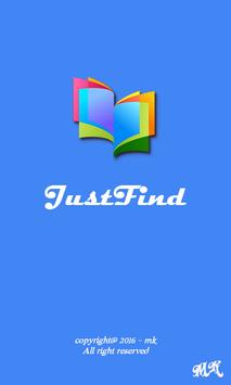 Dictionary - JustFind poster