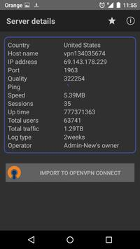 OpenVPN Plugin apk screenshot