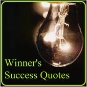Winner's Success Quotes icon