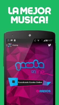Gamba Radio apk screenshot
