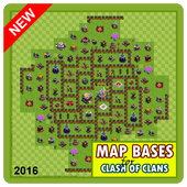 Map Bases For Clash of Clans icon