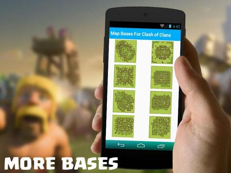Map Bases For Clash of Clans apk screenshot