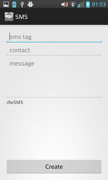 rfwSMS Free apk screenshot