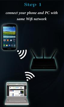 wifi file sharing poster