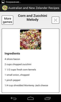 Australian Recipes apk screenshot