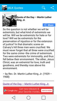 Rev. Martin Luther King Quotes apk screenshot