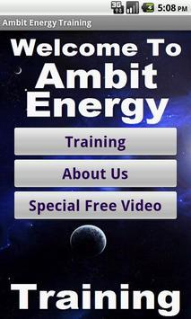 Ambit Energy Business Training poster