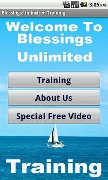Blessings Unlimited Business poster