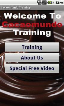 Cacaomundo Business Training poster