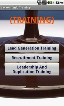 Cacaomundo Business Training apk screenshot