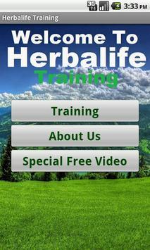 Herbalife Business Training poster