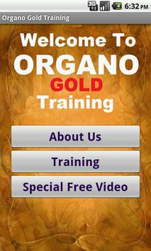 Organo Gold Business poster