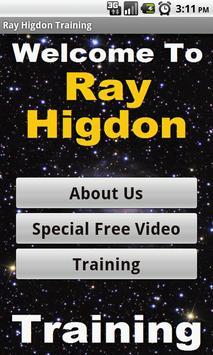 Struggling in Ray Higdon Biz poster